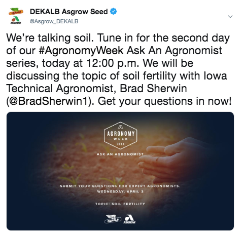 Agronomy Week Newsfeed Preview