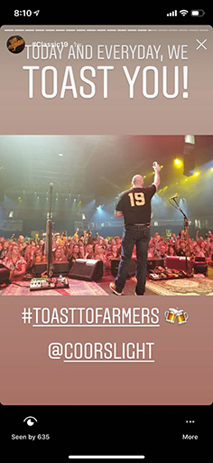 Toast to Farmers Phone Preview