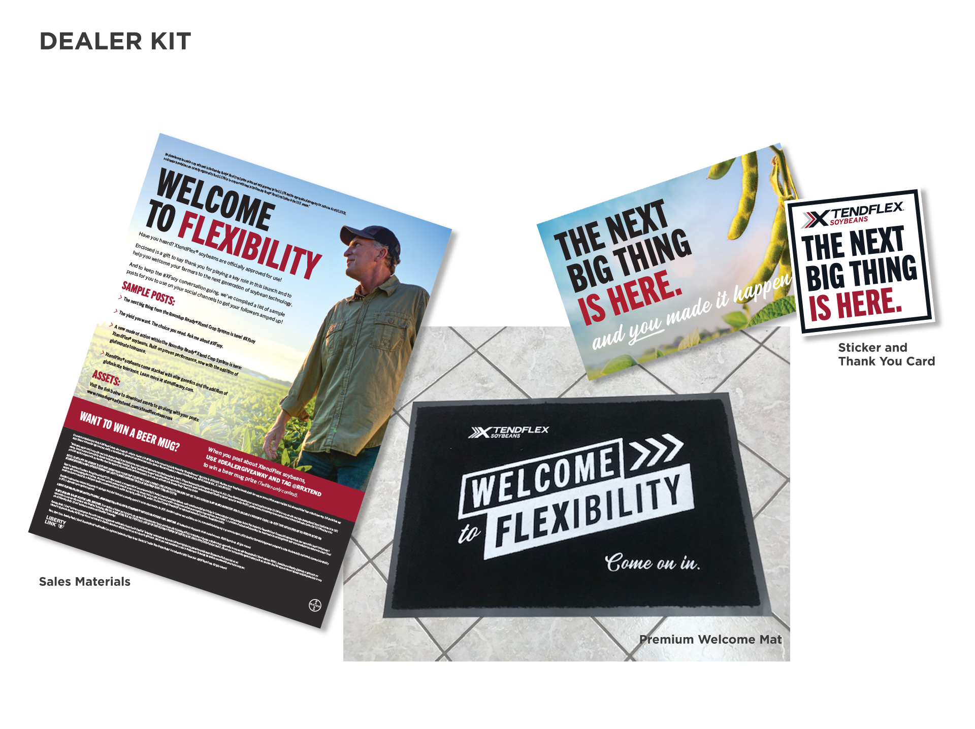 XtendFlex Next Big Thing Welcome Mat Kit Image
